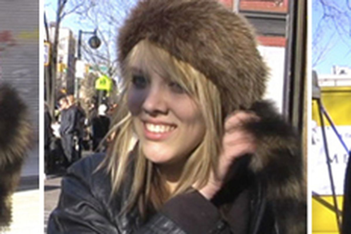 """Image via <a href=""""http://tv.gawker.com/5502178/coonskin-caps-the-latest-fauxhemian-fashion-must+have"""">Gawker</a>"""