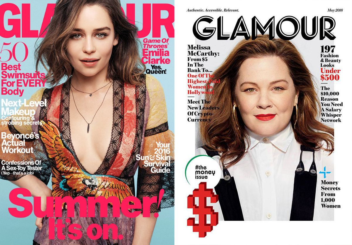 Two Glamour covers