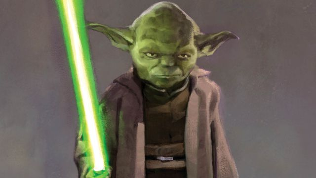 Yoda in the High REpublic concept art