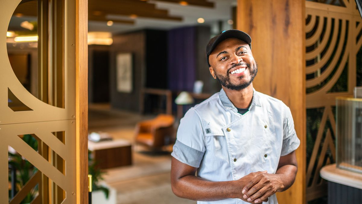 Armani Johnson, 27, earned a promotion into his first executive chef job at ABC Pony in Navy Yard