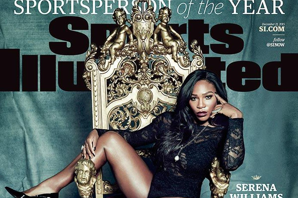 Serena Williams takes the throne as Sportsperson of the Year.