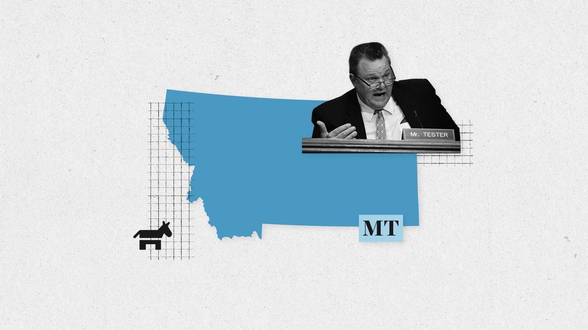 f129f1cdc Who is the Senate Democrat? Jon Tester. Elected in 2006. Capitol's best  haircut. He's pretty moderate (see this banking bill), but he's been more  willing ...