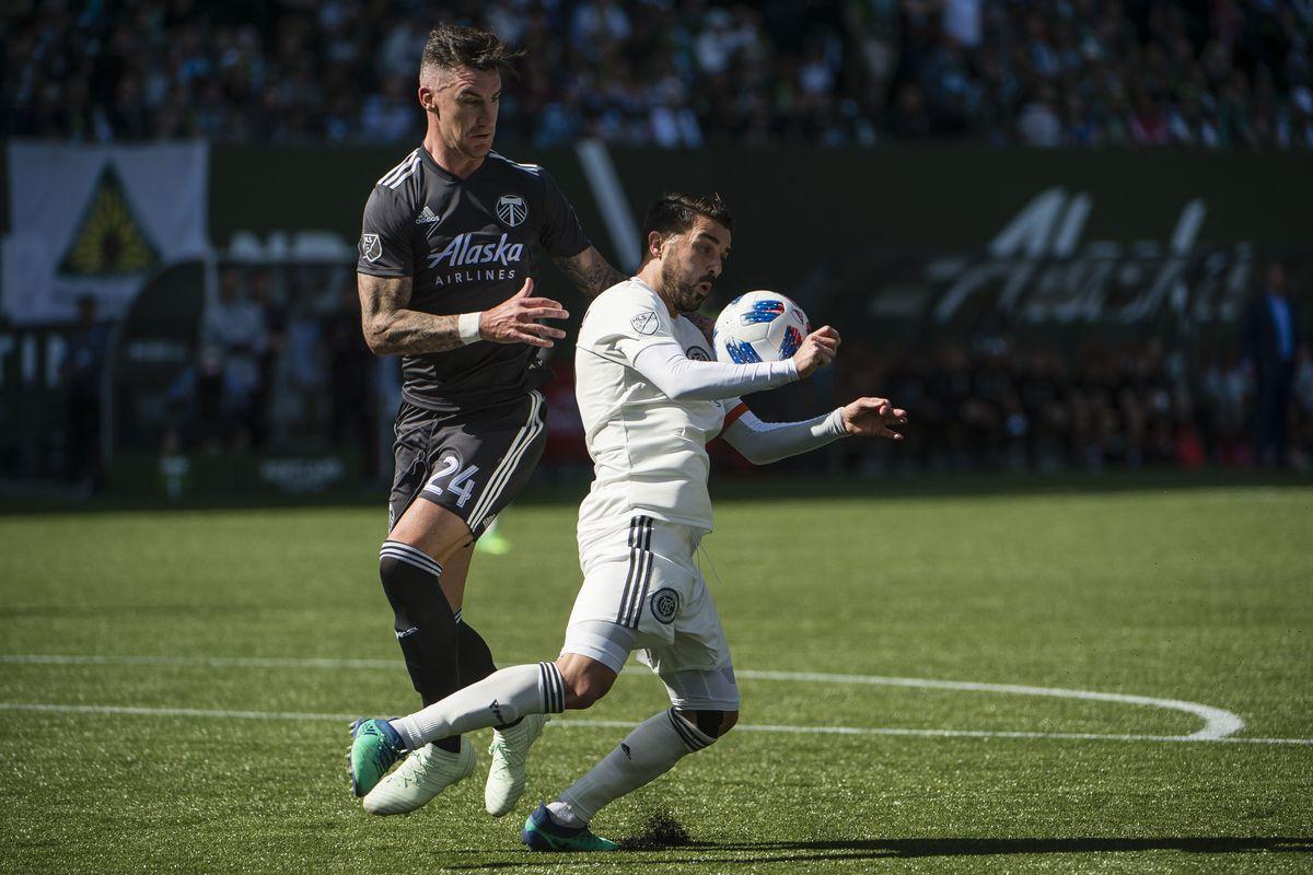 MLS: New York City FC at Portland Timbers