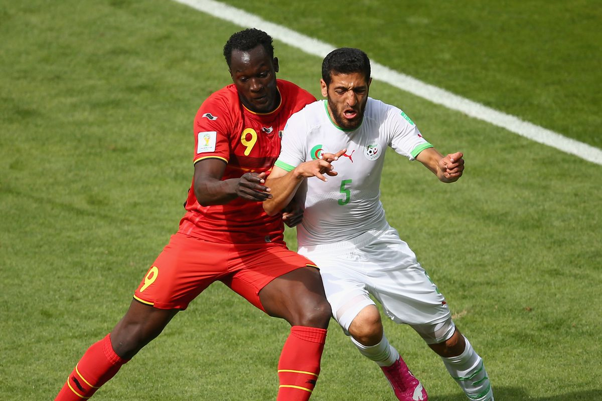 Romelu Lukaku must relish the thought of going up against the US back line.