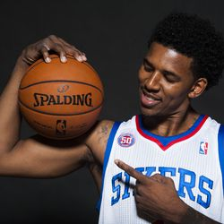 Nick Young Muscle Ball