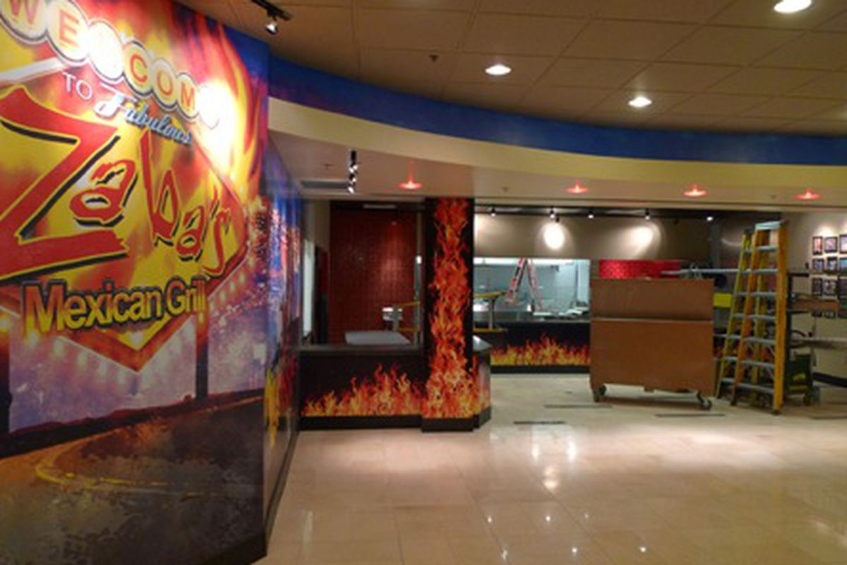 The new Zaba's Mexican Grill at the Plaza.