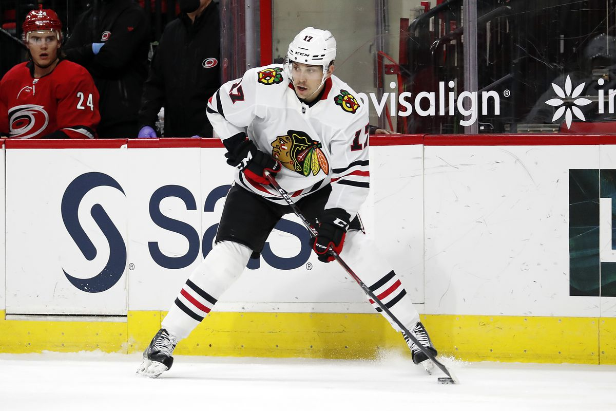 Blackhawks forward Dylan Strome scored only 17 points in 40 games this season.