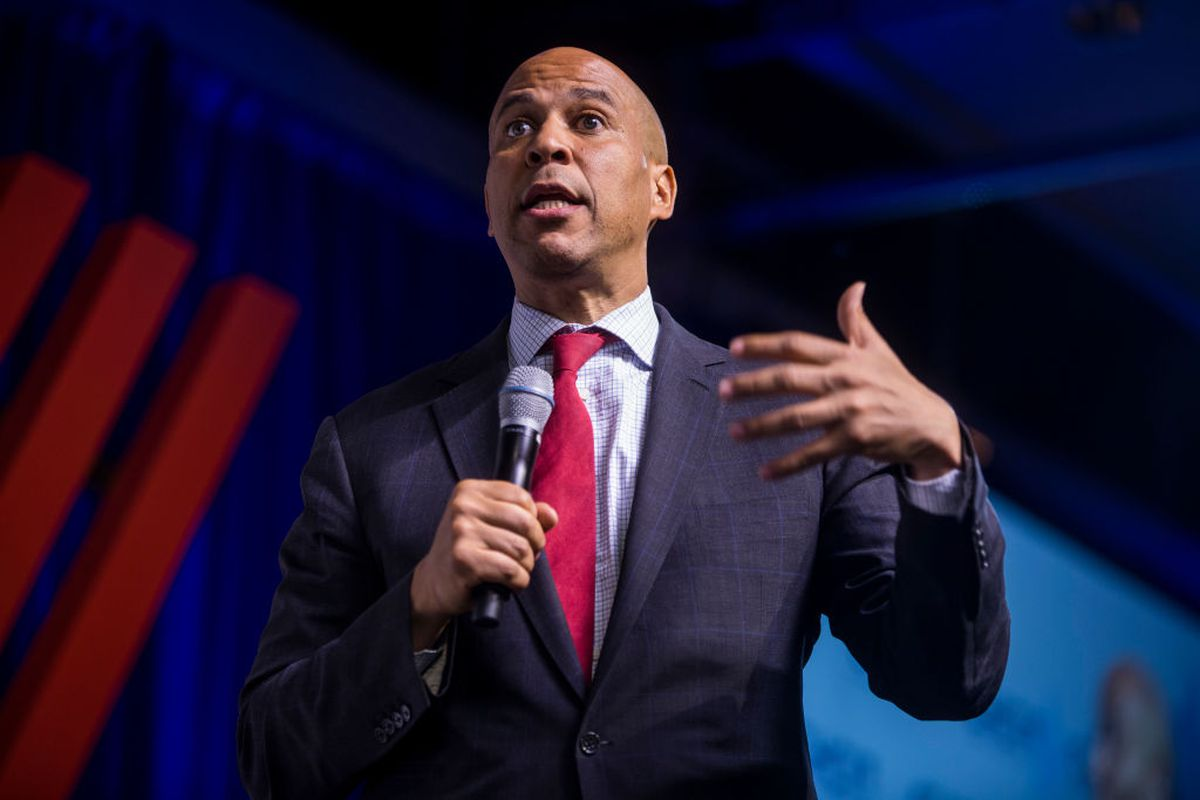 Democratic Presidential Candidate Sen. Cory Booker (D-NJ) speaks during a presidential forum hosted by the Congressional Hispanic Caucus Institute on September 10, 2019 in Washington, DC.