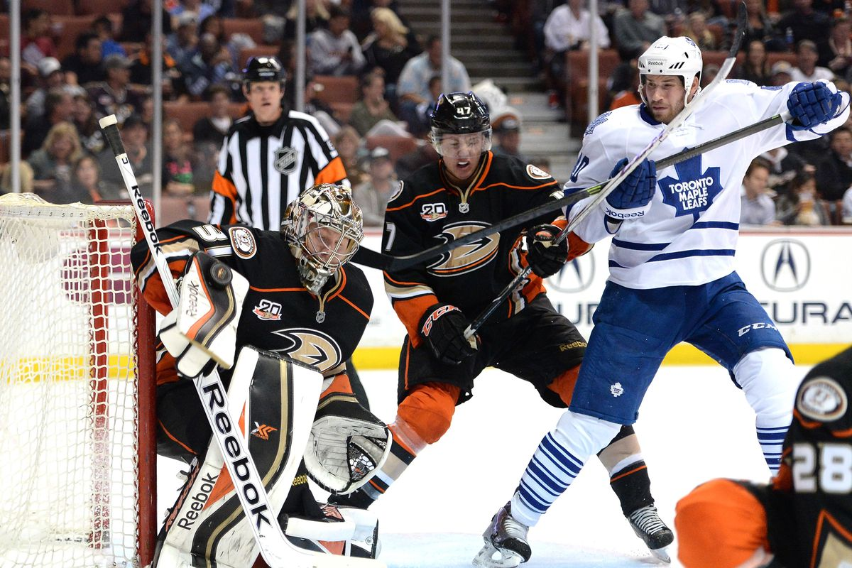 Toronto Maple Leafs v Anaheim Ducks