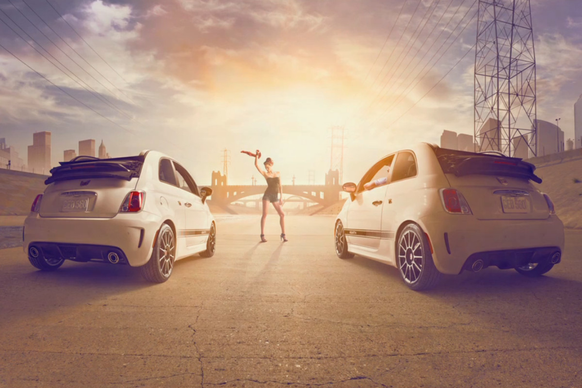 Dave Hill Fiat 2013 US shoot