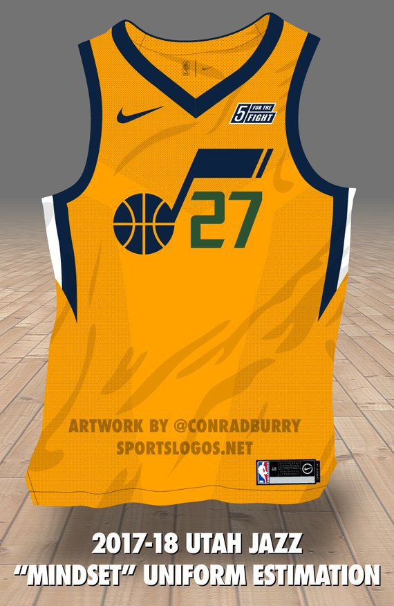 info for ab3ed 639a5 Utah Jazz Gold Uniform Estimation - SLC Dunk