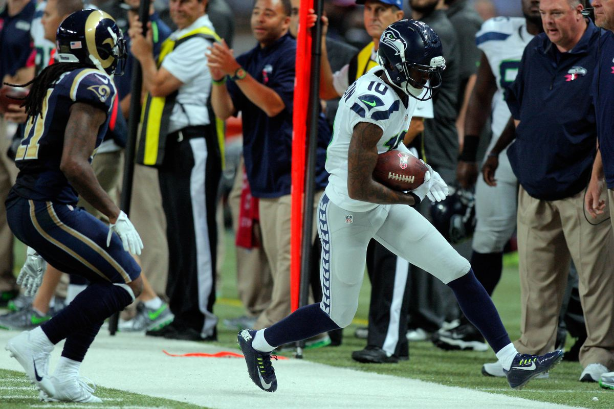 Paul Richardson was fined $5,000 by league officials for his use of anti-gravity boots.