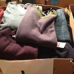 Men's sweaters, $99—$195