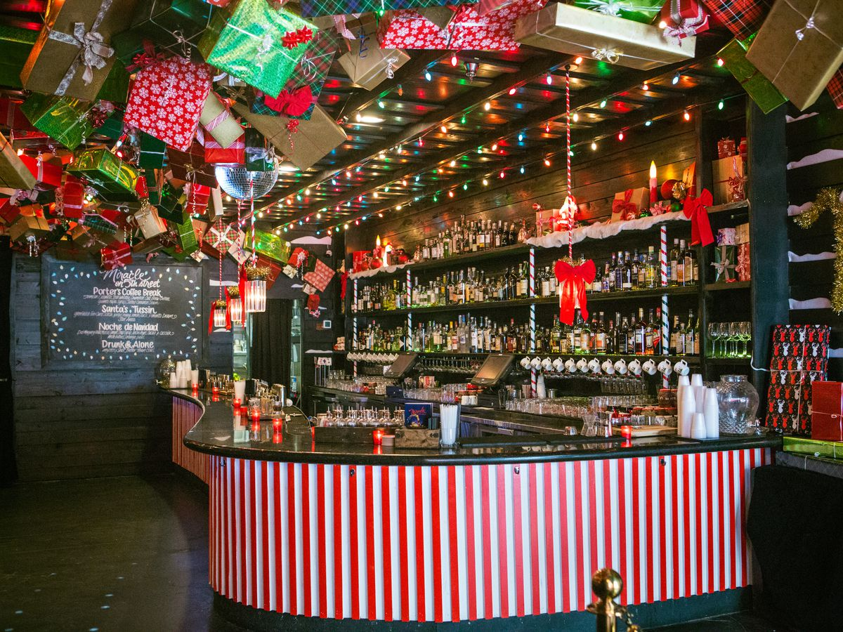 Miracle on Fifth Street's main bar