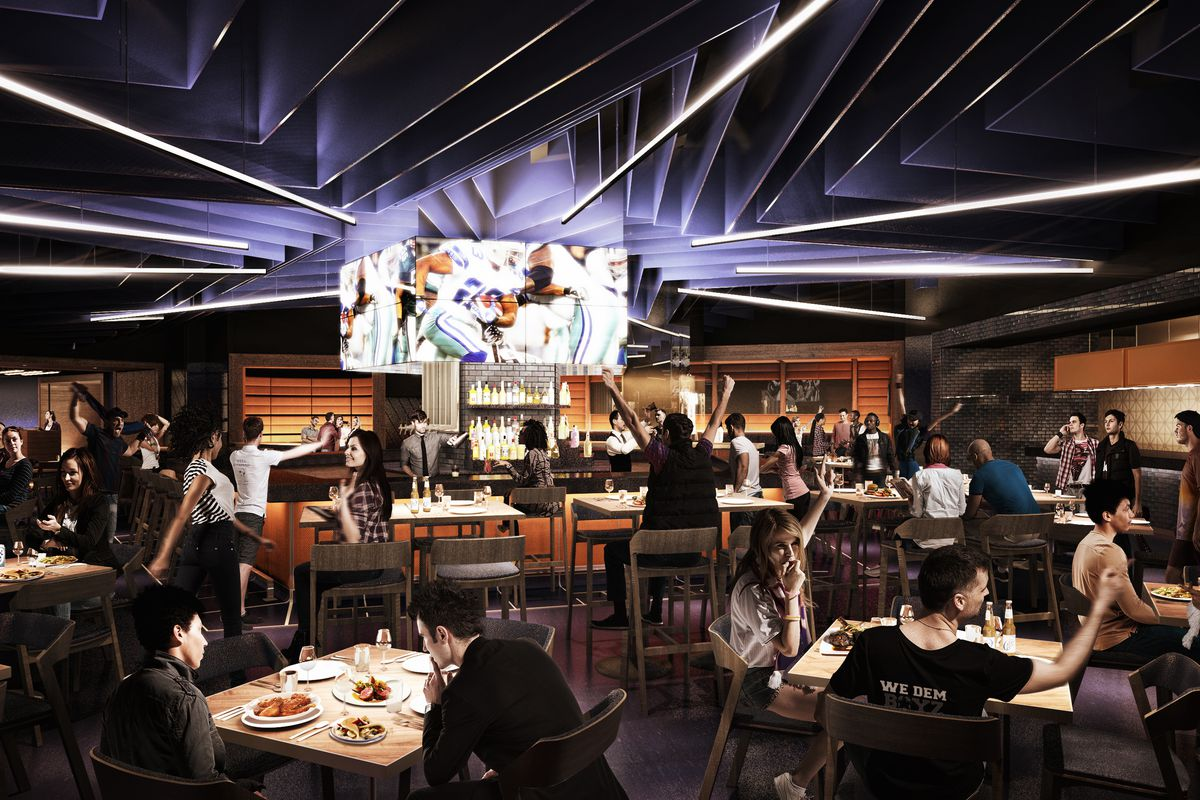 New Restaurant Lets Dallas Cowboys Fans Eat at AT T Stadium Seven ... 772c674ef
