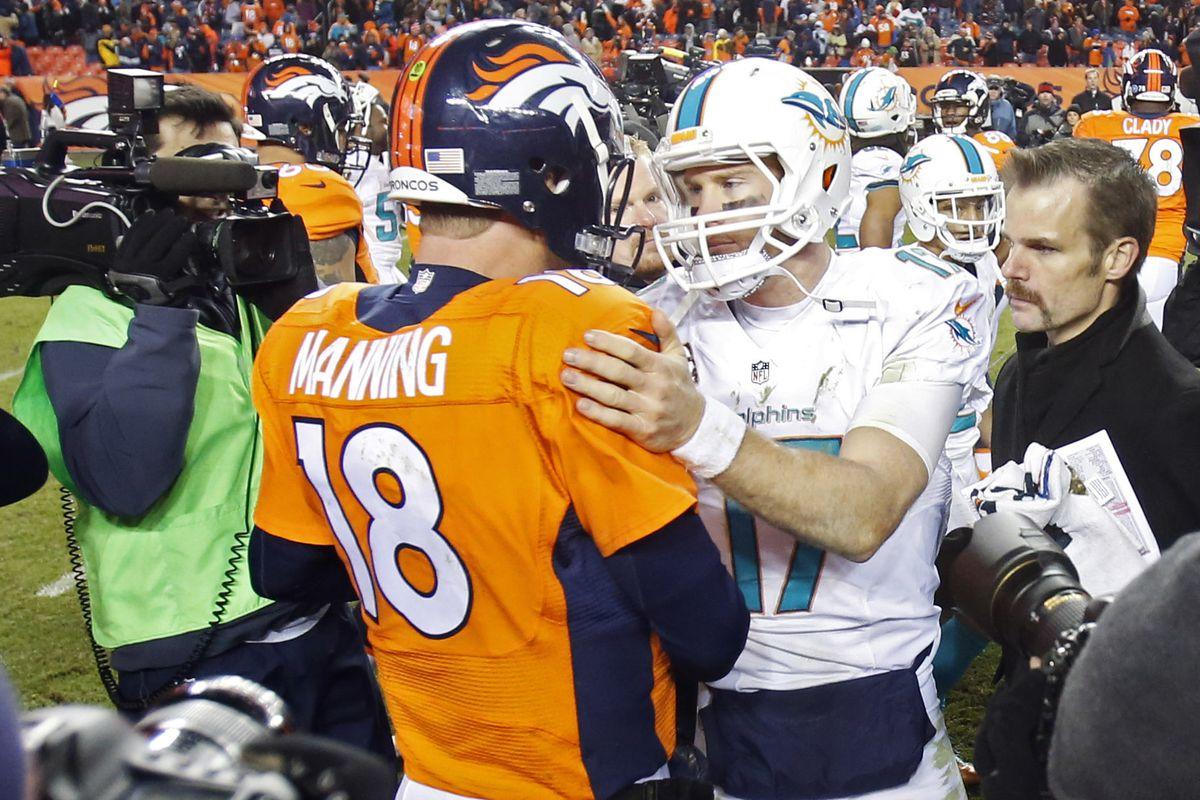 Image result for Peyton Manning Adam Gase