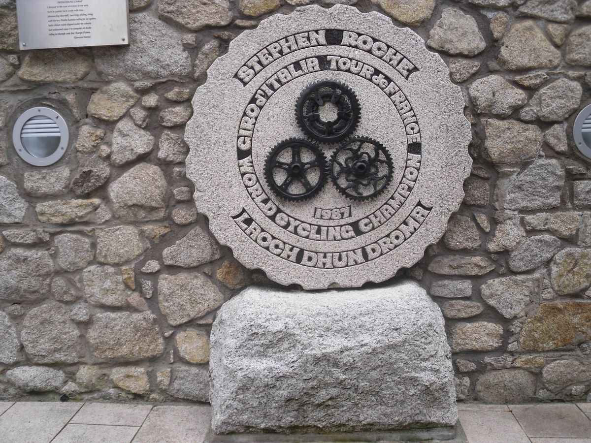The Stepehen Roche steele in Dundrum