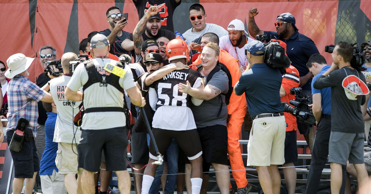 Browns partner with Bud Light on Victory Fridges