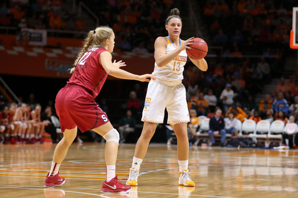 The Lady Vols beat Stanford so badly we have this picture.