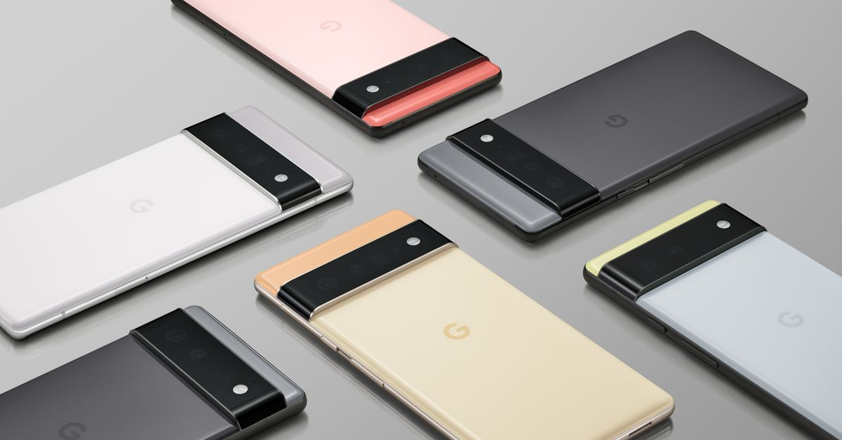 The Pixel 6 may have leaked and may not be in Google's hands for once