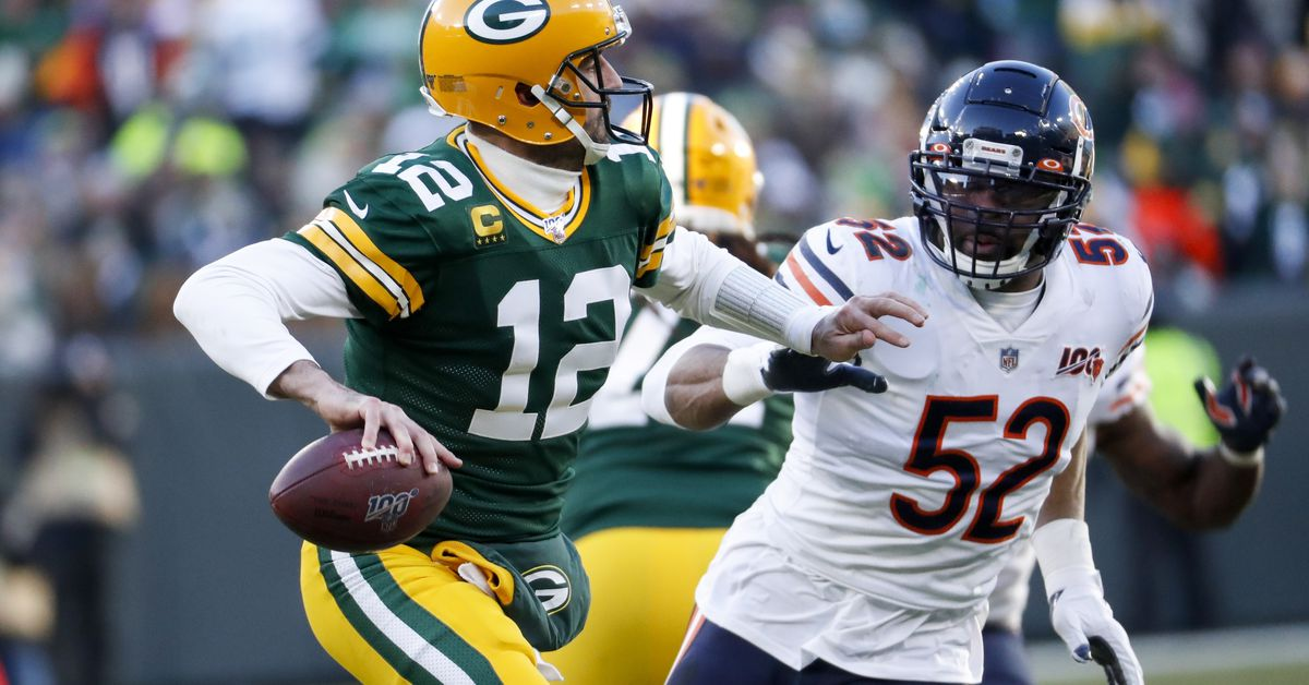 Chicago Bears fall short in loss to Packers, virtually ending playoff hopes - Chicago Sun-Times