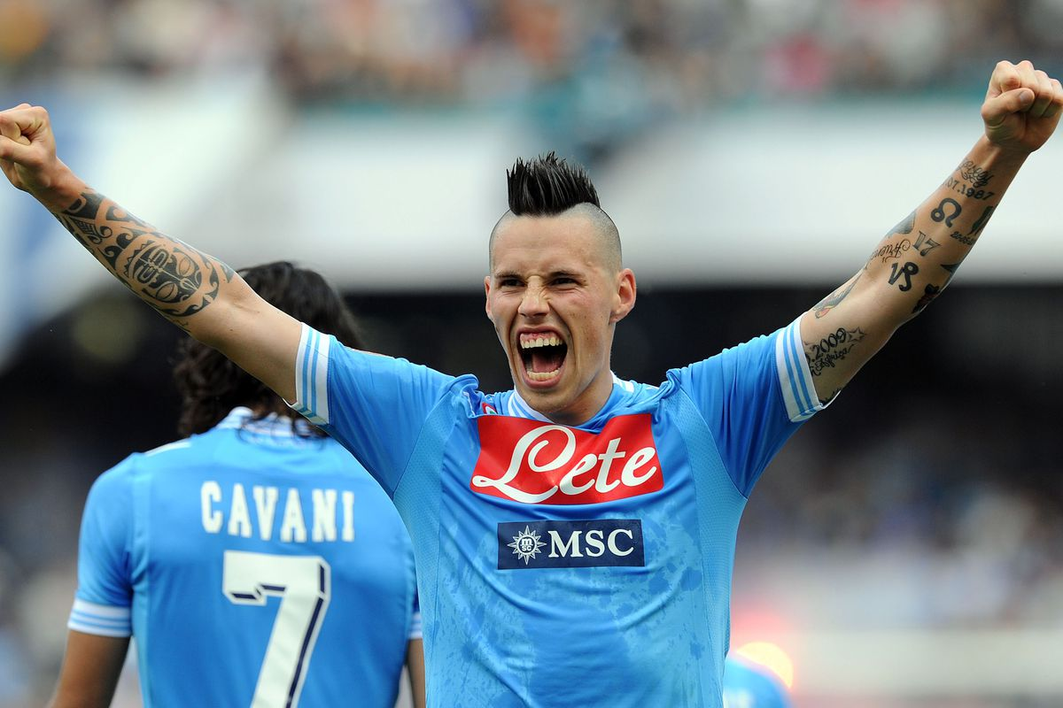 Something to really celebrate Marek Hamsik has extended his