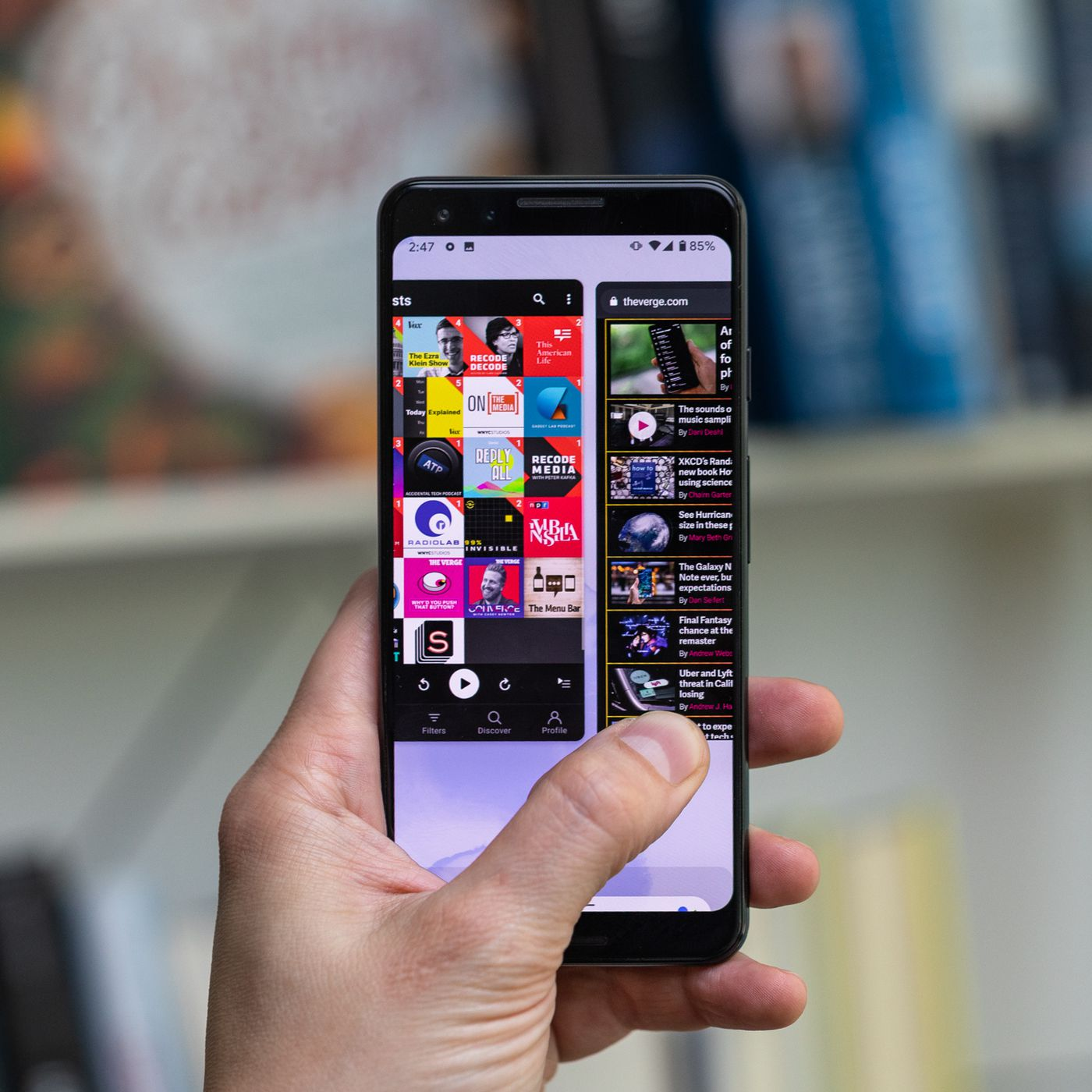 Android 10 review: new gestures, dark theme, and privacy
