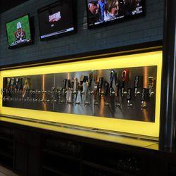 40 beer taps