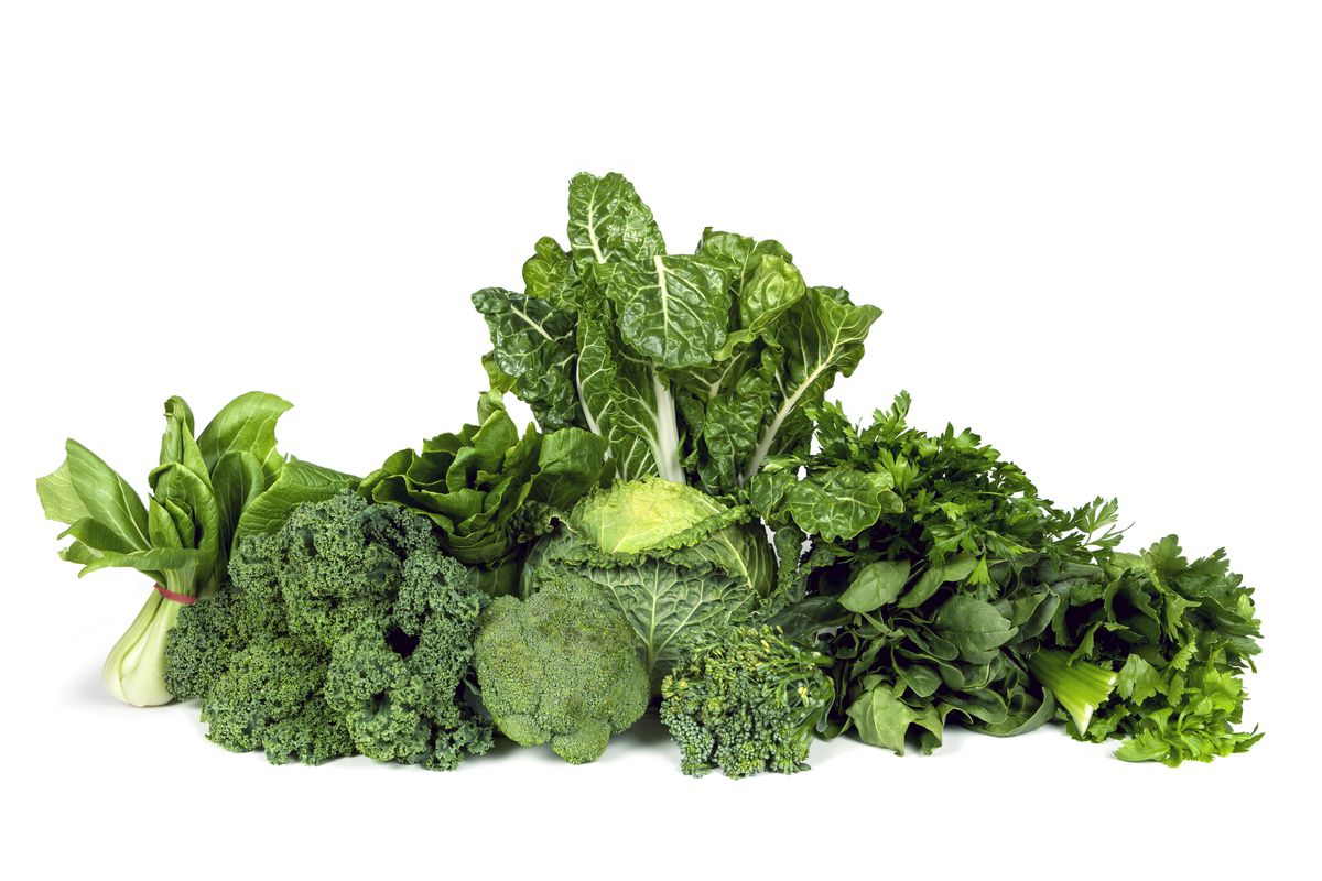 Leafy green vegetables can help reduce inflammation. | THINKSTOCK.COM PHOTO