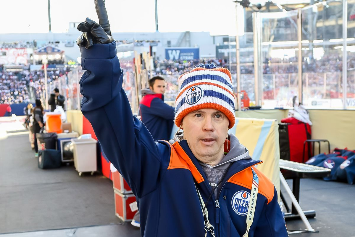 2016 Tim Hortons NHL Heritage Classic Game - Edmonton Oilers v Winnipeg Jets