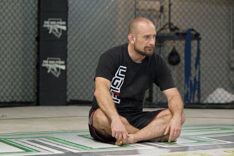 MMA coach Greg Jackson