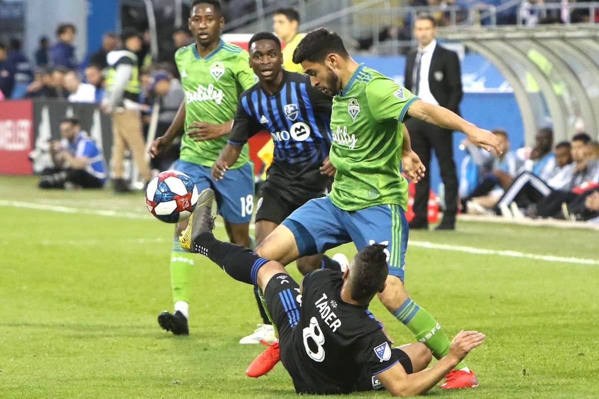MLS: Seattle Sounders FC at Montreal Impact