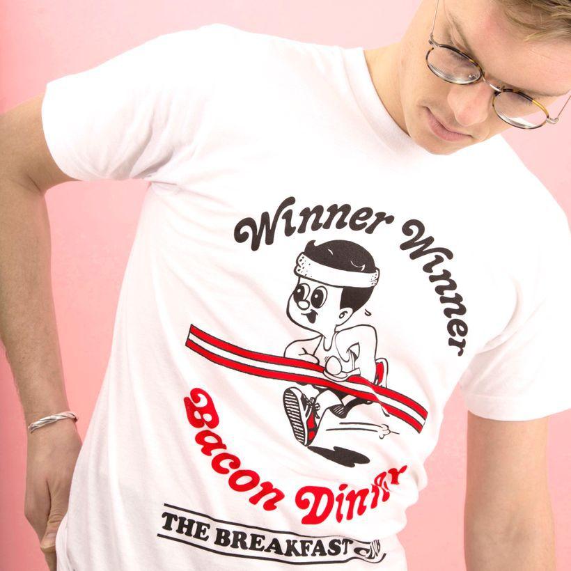 Breakfast Club bacon t-shirt merch