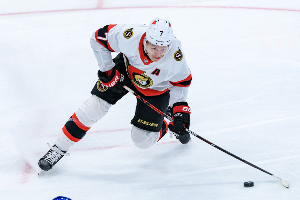 NHL: FEB 17 Senators at Maple Leafs