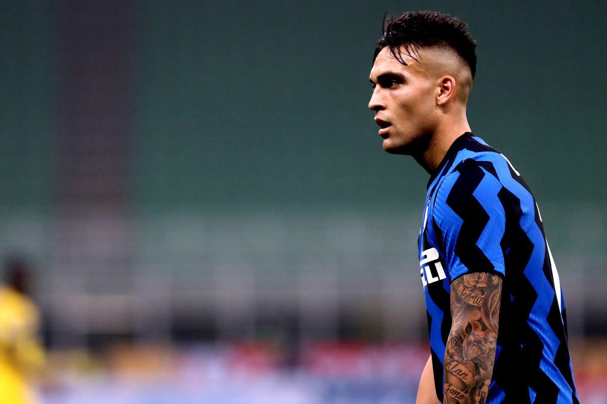 Lautaro Martinez of FC Internazionale during The Serie A...