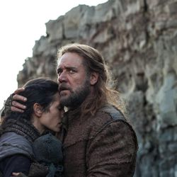"""Russell Crowe is Noah and Jennifer Connelly is Naameh in """"Noah,"""" from Paramount Pictures and Regency Enterprises."""