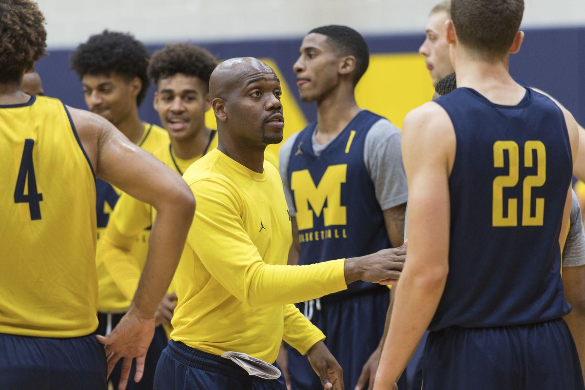 Michigan coach DeAndre Haynes