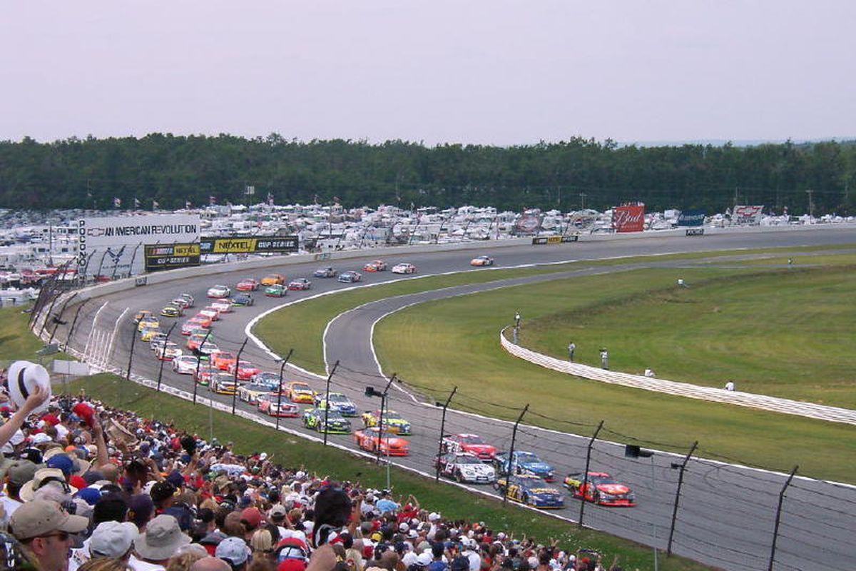 Pocono Raceway in Long Pond, Pa