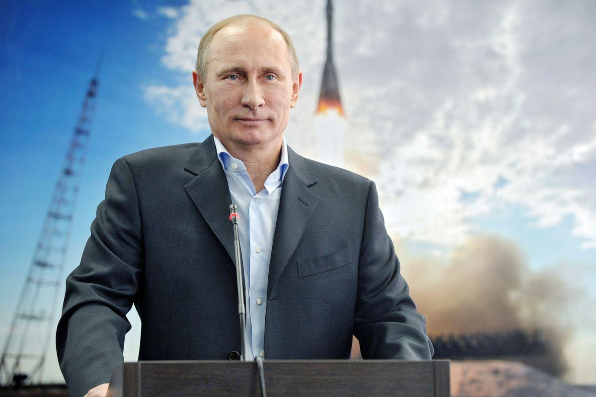 Vladimir Putin, rocket man.