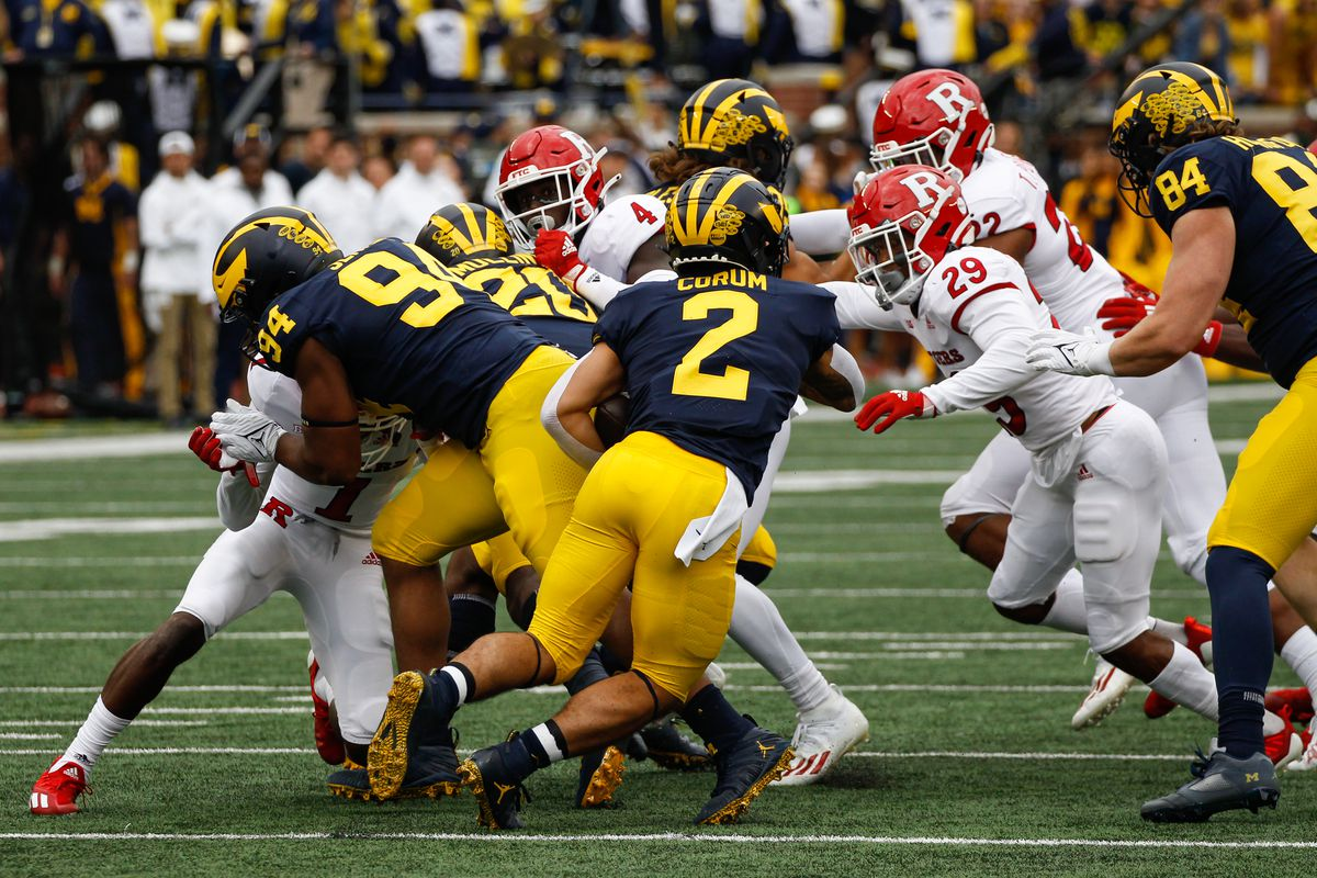 COLLEGE FOOTBALL: SEP 25 Rutgers at Michigan