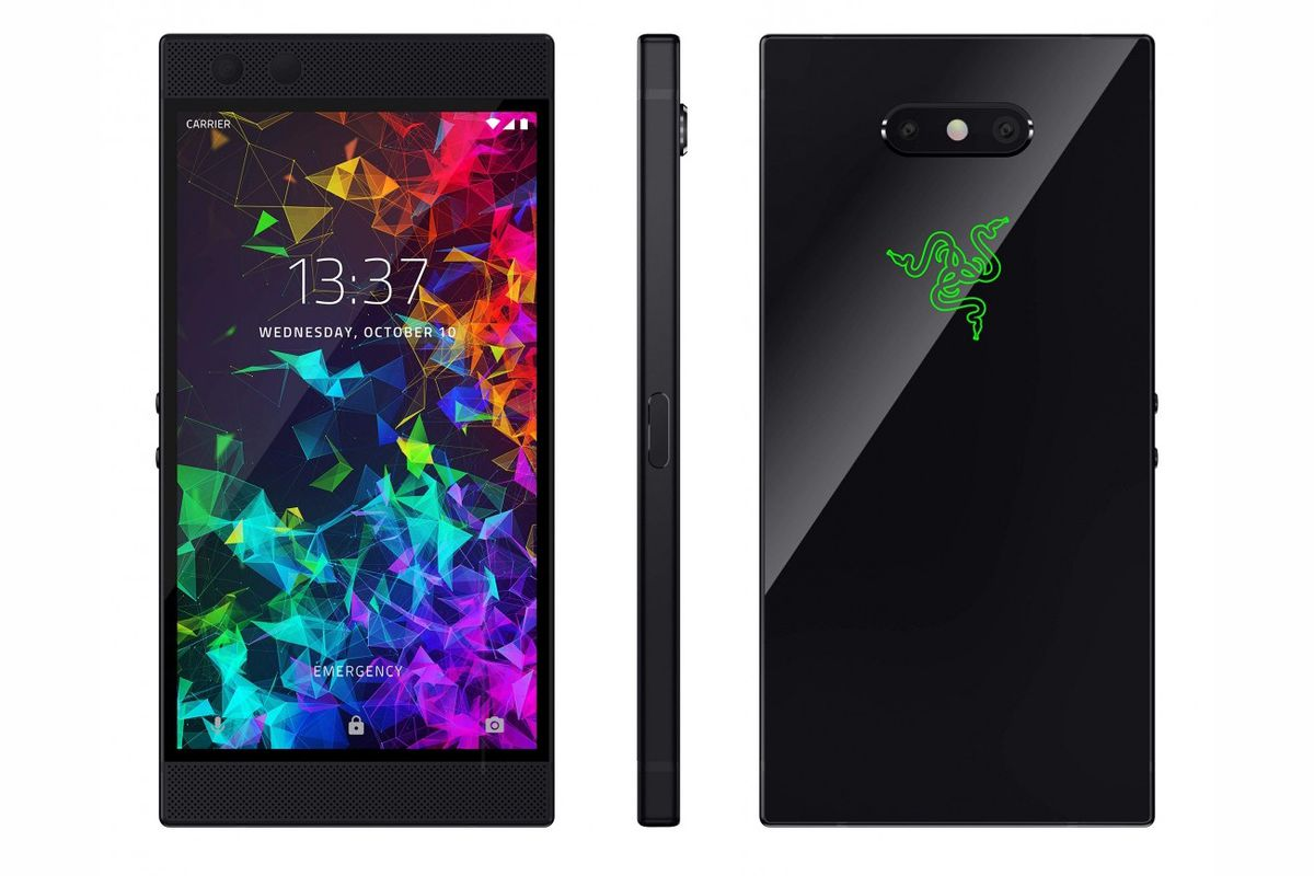 Image result for Razer Phone 2 Satin Black Limited Edition