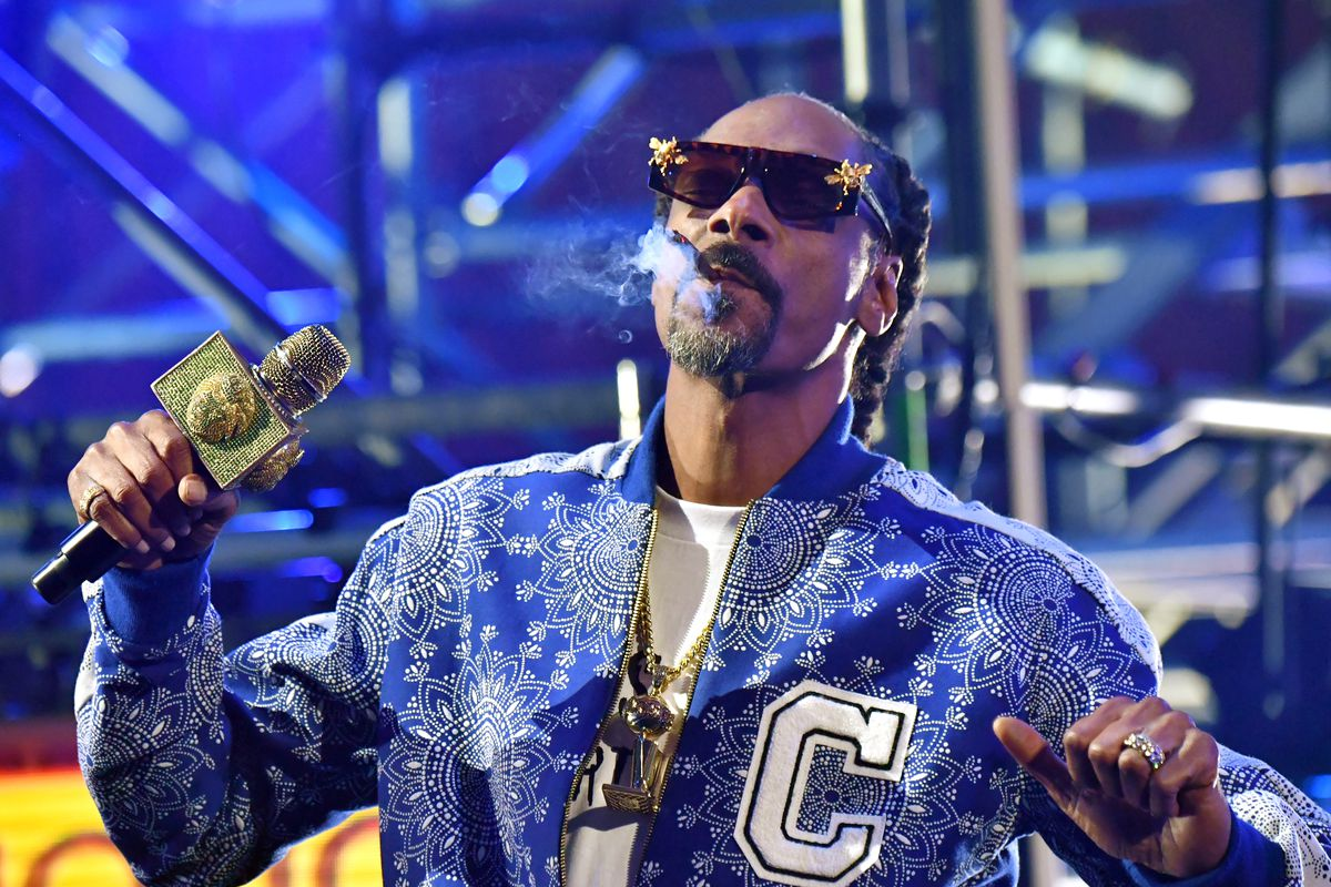 Snoop Dogg performs during the Triller Fight Club: Jake Paul v. Ben Askren event.