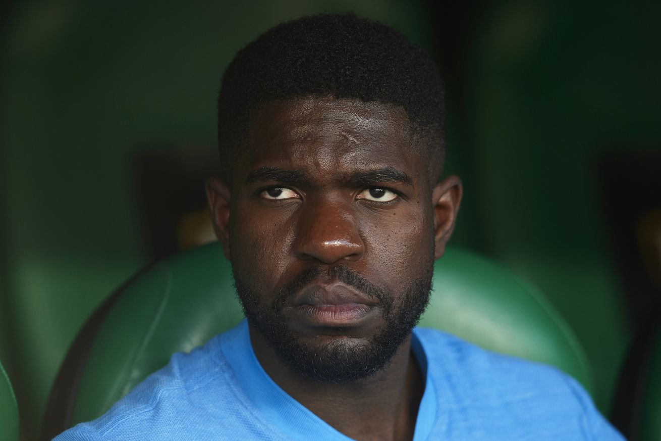 PSG want Samuel Umtiti as part of Neymar deal - report