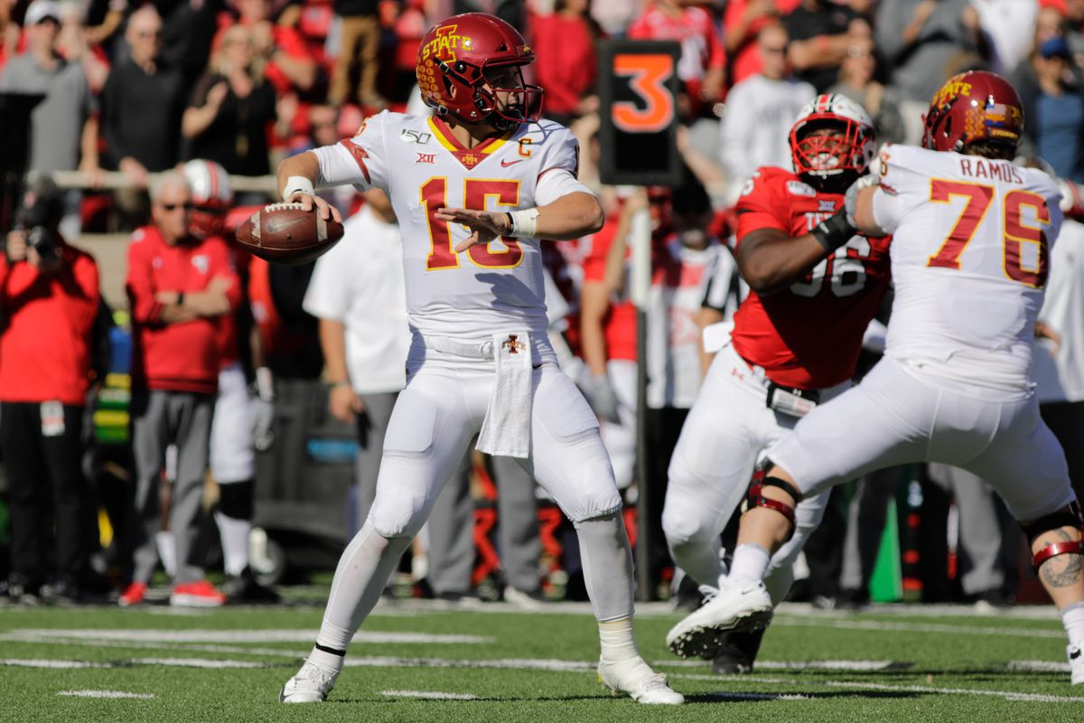 COLLEGE FOOTBALL: OCT 19 Iowa State at Texas Tech