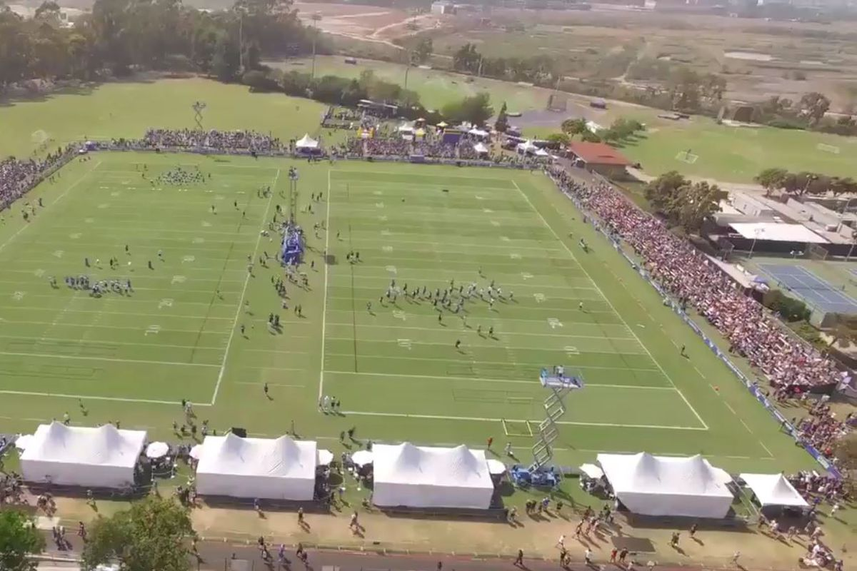 2016 Los Angeles Rams Training Camp Day 1