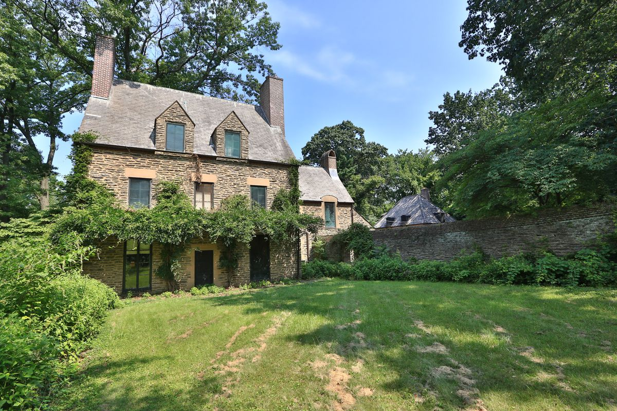 Old world Woods Edge manor in Mt Airy asks 18M Curbed Philly