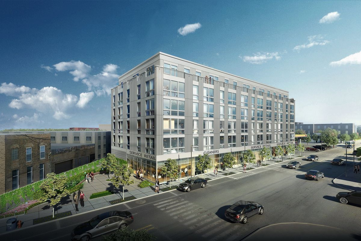 Construction finally begins on long-planned Logan Square apartment block b38fa4d461