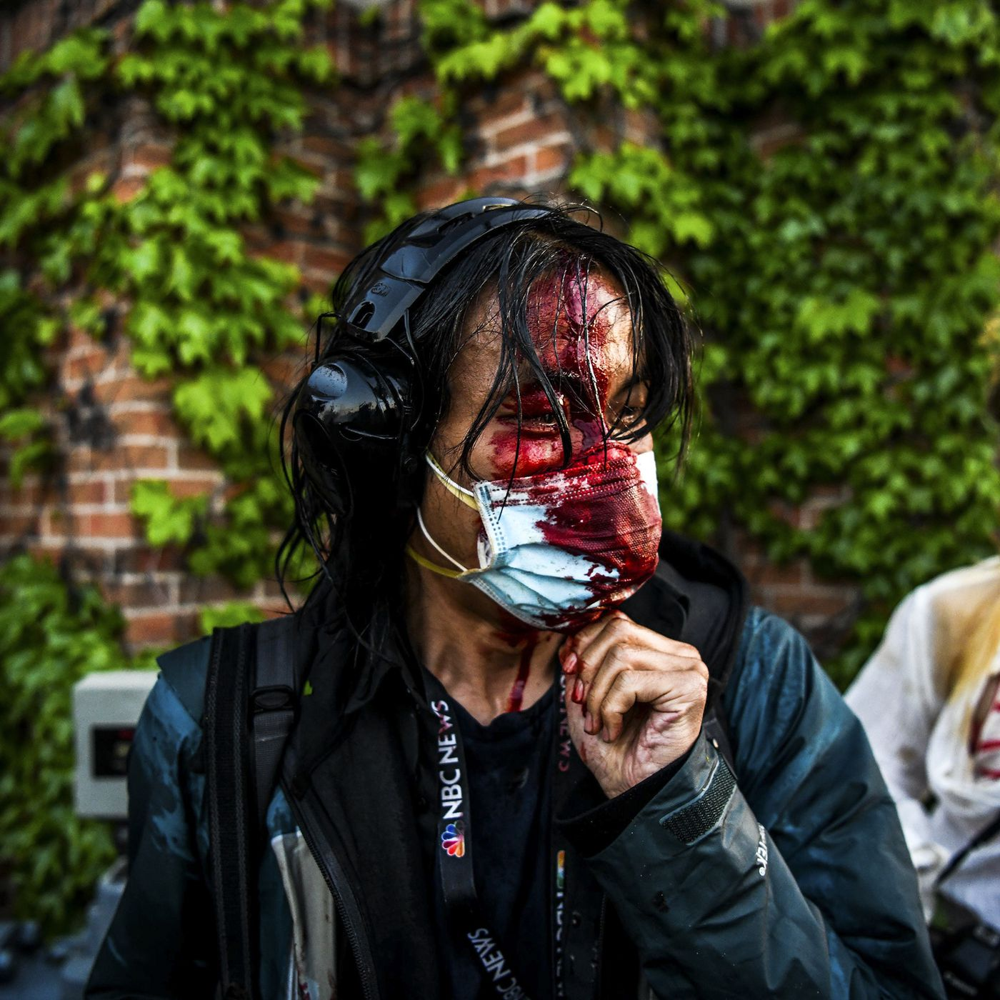 Halloween 2020 Journalist Police targeted journalists covering the George Floyd protests   Vox