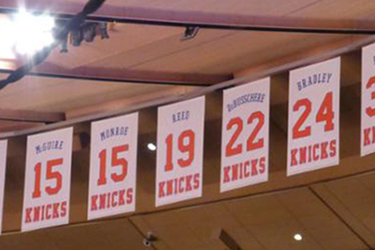 finest selection 4d5bb bd227 P&T Roundtable: Numbers the Knicks won't retire, but should ...