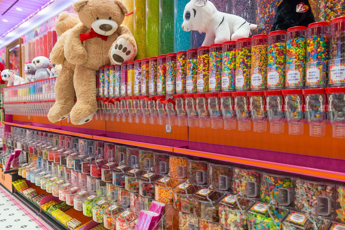 Candy and toys at Sloan's Ice Cream